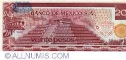 Image #2 of 20 Pesos 1976 (8. VII.) - Serie CQ