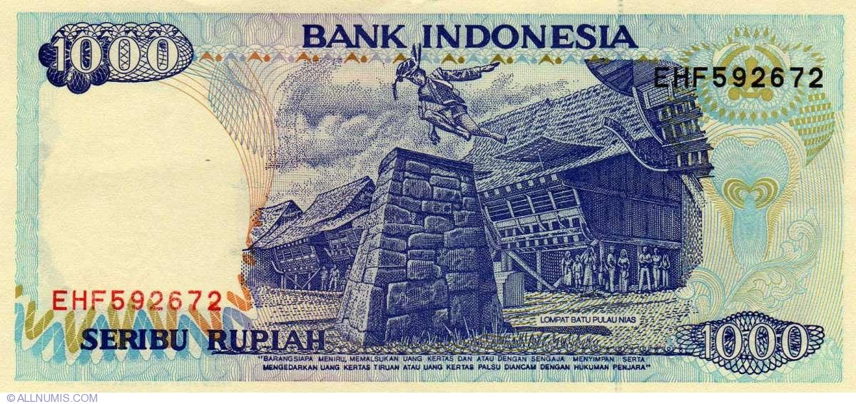 1000 Rupiah 1992 1999