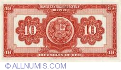 10 Soles de Oro 1966 (20. V.)