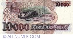 Imaginea #2 a 10000 Cruzeiros ND(1993) - semnături Paulo Roberto Haddad/ Gustavo Jorge Laboissière Loyola
