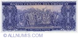 Image #2 of 50 Pesos ND(1967)