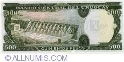 Image #2 of 0.50 Nuevo Peso on 500 Pesos ND(1975)