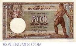 500 Dinara 1942 (1. V.)