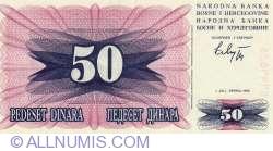 Imaginea #1 a 50 Dinari 1992 (1. VII.)