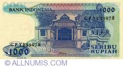 Image #2 of 1000 Indonesian Rupiah 1987