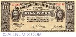 Image #1 of 10 Peso 1915 (I.) - 1