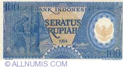 Image #1 of 100 Rupiah 1964