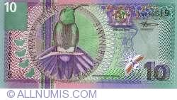 Image #1 of 10 Gulden 2000 (1. I.)