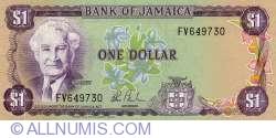 Imaginea #1 a 1 Dolar ND (1982-1986)