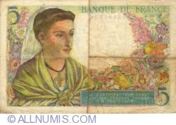 Image #2 of 5 Francs 1943 (23. XII.)