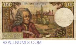 Image #2 of 10 Francs 1973 (2. VIII.)