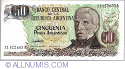 Image #1 of 50 Peso Argentinos ND (1983-1985)