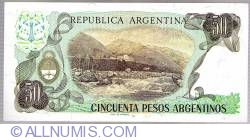 Image #2 of 50 Peso Argentinos ND (1983-1985)