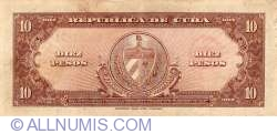 Image #2 of 10 Pesos 1960