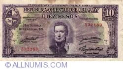 Image #1 of 10 Pesos L.1939 - Serie D