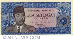 Image #1 of 2 1/2 Rupiah 1964