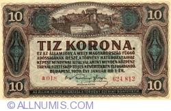 Imaginea #1 a 10 Coroane 1920 (1. I.)