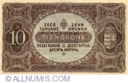 Imaginea #2 a 10 Coroane 1920 (1. I.)