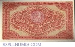 Imaginea #2 a 2 Coroane 1920 - Serie Tip 0aa000  000.000
