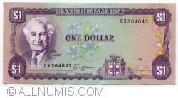 Imaginea #1 a 1 Dolar 1989 (1. VII.)