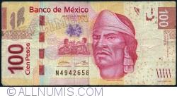 Image #1 of 100 Pesos 2012 (10. I.) - serie S