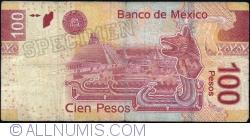 Image #2 of 100 Pesos 2012 (10. I.) - serie S