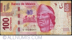 Image #1 of 100 Pesos 2012 (19. XII.) - serie Y