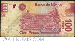 Image #2 of 100 Pesos 2012 (19. XII.) - serie Y