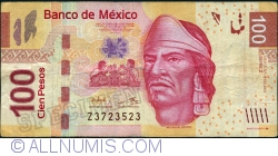 Image #1 of 100 Pesos 2012 (19. XII.) - serie Z
