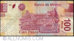 Image #2 of 100 Pesos 2012 (19. XII.) - serie Z