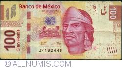 Image #1 of 100 Pesos 2013 (24. IV.) - serie AB