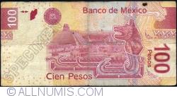 Image #2 of 100 Pesos 2013 (24. IV.) - serie AB