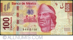 Image #1 of 100 Pesos 2013 (24. IV.) - serie AF