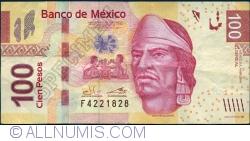 Image #1 of 100 Pesos 2014 (4. IV.) - serie AL