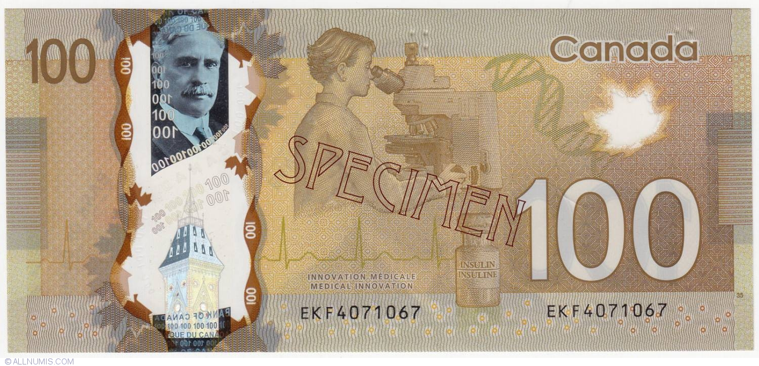 100 dollars 2011, 2011-2013 Issues - Canada - Banknote - 4146
