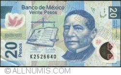 Image #1 of 20 Pesos 2007 (20. XI.) - Serie F
