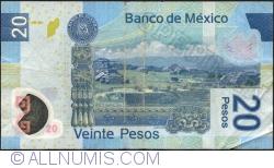 Image #2 of 20 Pesos 2007 (20. XI.) - Serie F