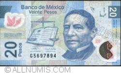 Image #1 of 20 Pesos 2009 (23. IV.) - Serie K