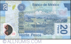 Image #2 of 20 Pesos 2009 (23. IV.) - Serie K