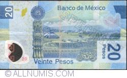 Image #2 of 20 Pesos 2010 (3. V.) - Serie M