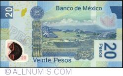 Image #2 of 20 Pesos 2010 (3. V.) - Serie N