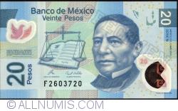 Image #1 of 20 Pesos 2010 (3. V.) - Serie N