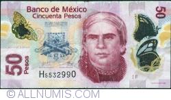 Image #1 of 50 Pesos 2012 (12. VI.) - Serie F