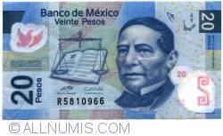 Image #1 of 20 Pesos 2006 (22. XI.) - Serie C