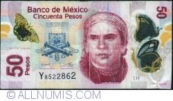 Image #1 of 50 Pesos 2013 (10. VI.) - Serie H
