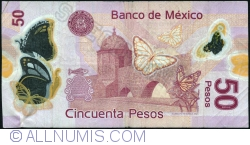Image #2 of 50 Pesos 2013 (10. VI.) - Serie H