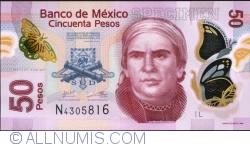 Image #1 of 50 Pesos 2013 (10. VI.) - Serie L