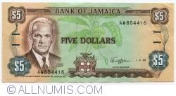 Imaginea #1 a 5 Dolari 1989 (1. V.)