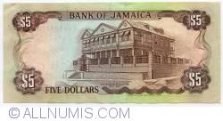 Imaginea #2 a 5 Dolari 1989 (1. V.)