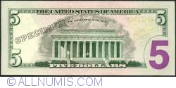 Image #2 of 5 Dollars 2013 - B